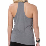 Metal Mulisha Juniors Edge Halter Tank Top Back
