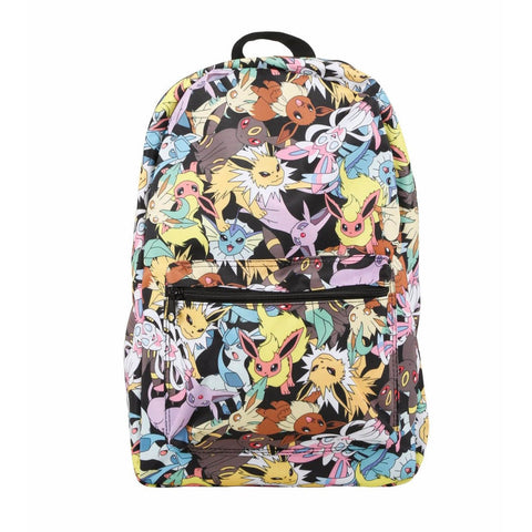 Loungefly Pokemon Eevee Evolution AOP Backpack