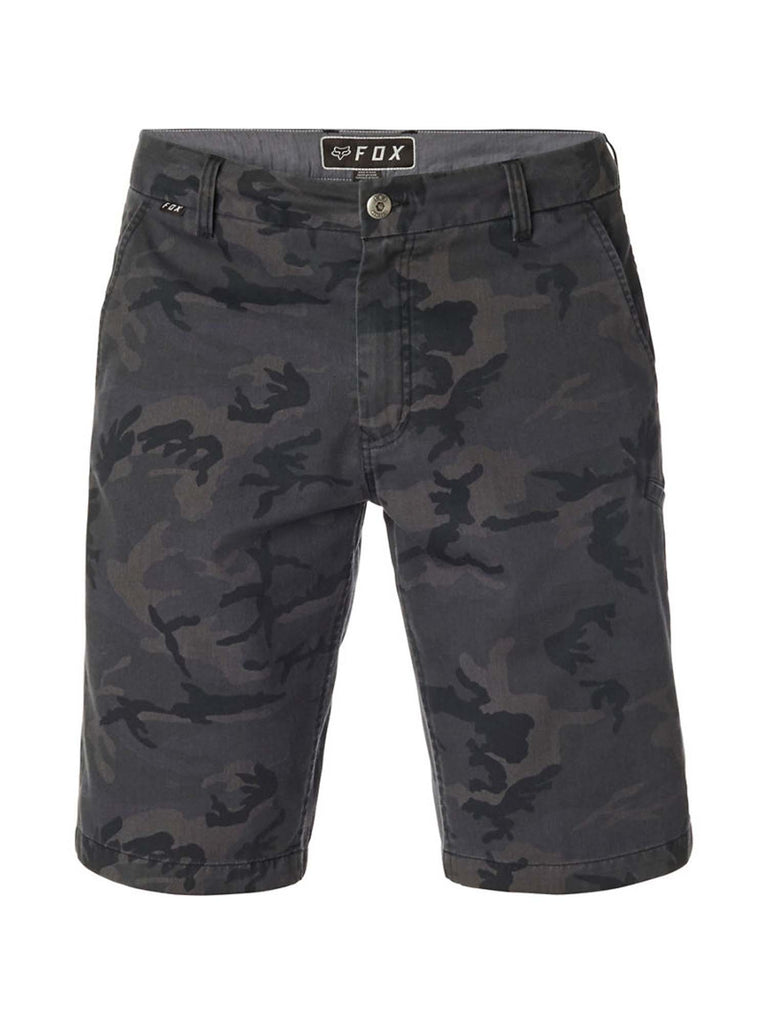 Fox Racing Men's Essex Black Camo Shorts