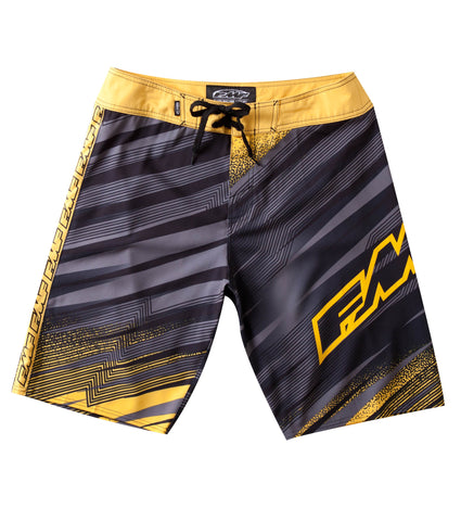"FMF Racing Men's ""Sped Up"" Striped Boardshorts"