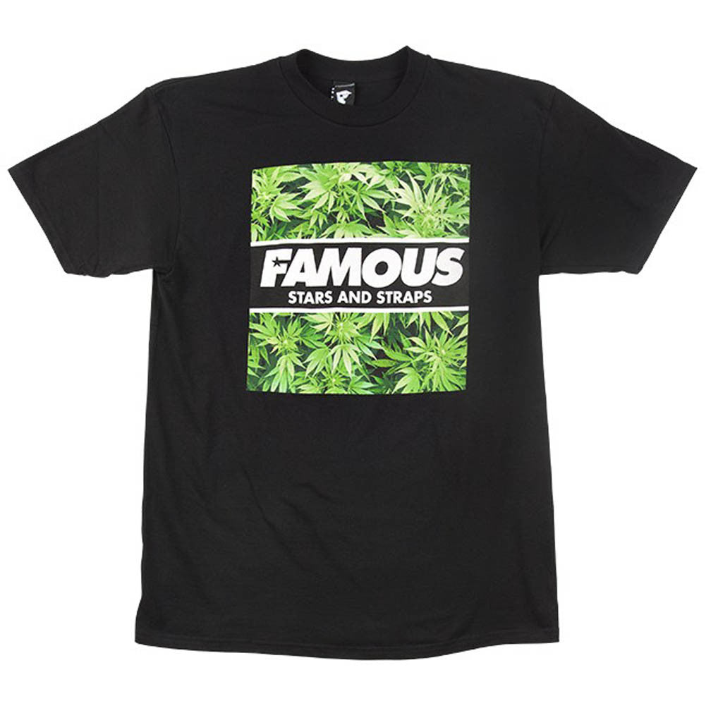 Famous Stars And Straps Hot Box Marijuana Tee
