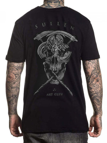 Sullen Men's Farrar Reaper Short Sleeve T-shirt