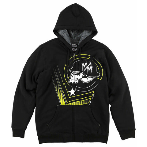 Metal Mulisha Men's Felon Sherpa Zip Up Hoodie
