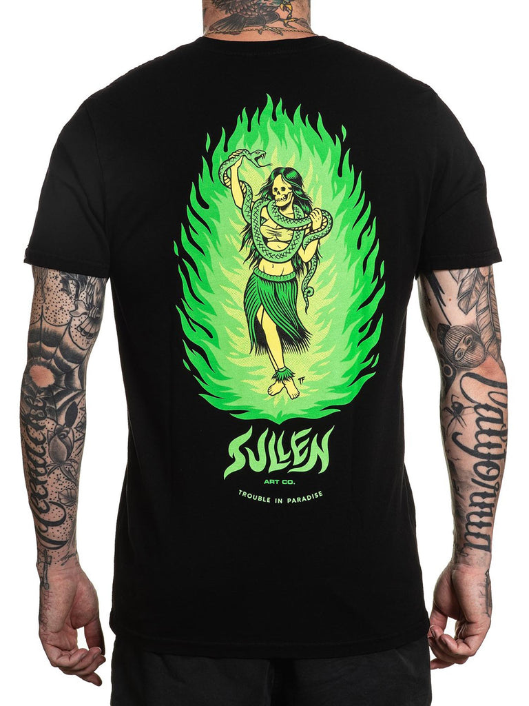 Sullen Men's Fire Dancer Standard Short Sleeve T-shirt