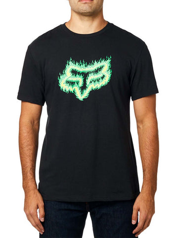 Fox Racing Men's Flame Head Short Sleeve Basic T-shirt