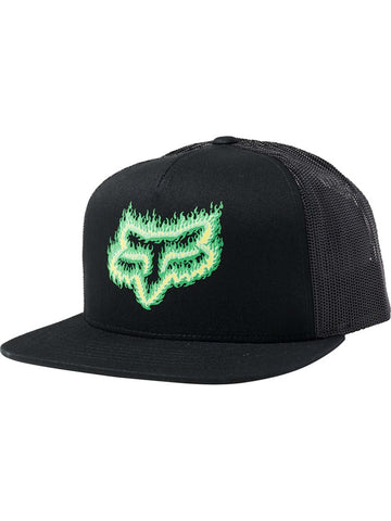 Fox Racing Men's Flame Head Snapback Hat
