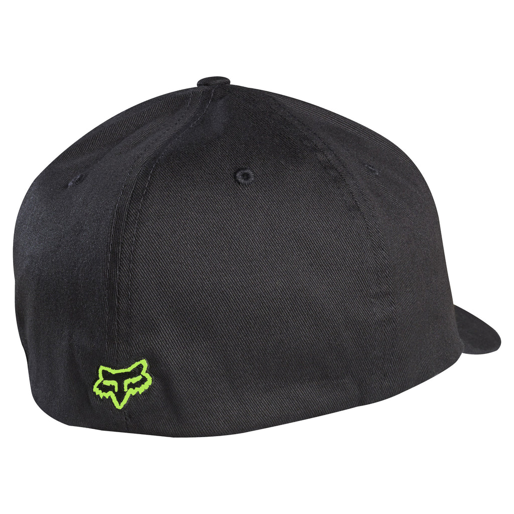 ... sweden fox racing flex 45 flexfit hat green on black back 63808 366aa 57da7d90b83