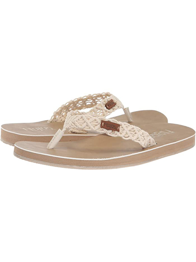 Flojos Women's Aura Sandals with Macrame Strap