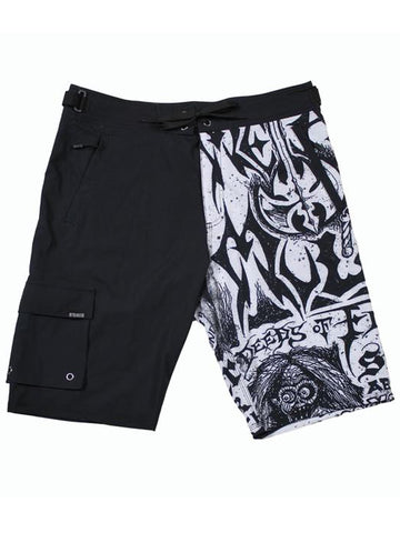 Metal Mulisha Men's Flyer Boardshorts