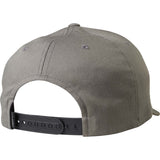Fox Racing Men's Forty Five 110 Snapback Hat Graphite Back