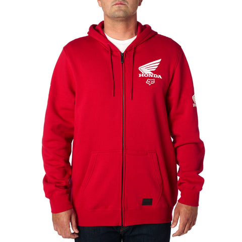 Fox Racing Men's Fox Honda Zip Up Fleece Hoodie