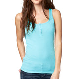 Fox Racing Women's Miss Clean Henley Tank Top Iced