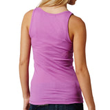 Fox Racing Women's Miss Clean Henley Tank Top Neon Lilac Back