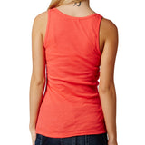 Fox Racing Women's Miss Clean Henley Tank Top Wild Cherry Back