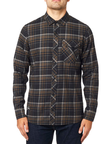 Fox Racing Men's Gamut Stretch Flannel Button Down Shirt