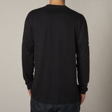 Fox Gorged Long Sleeve Black Back