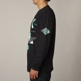 Fox Gorged Long Sleeve Black Left