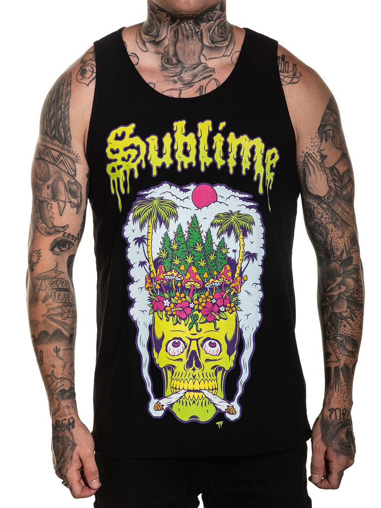 Sullen Men's Head High Sleeveless Tank Top Jersey
