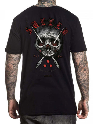 Sullen Men's Holmes Badge Short Sleeve T-shirt