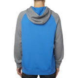 Fox Racing Men's Impressor Pullover Fleece Hoodie Blue Back