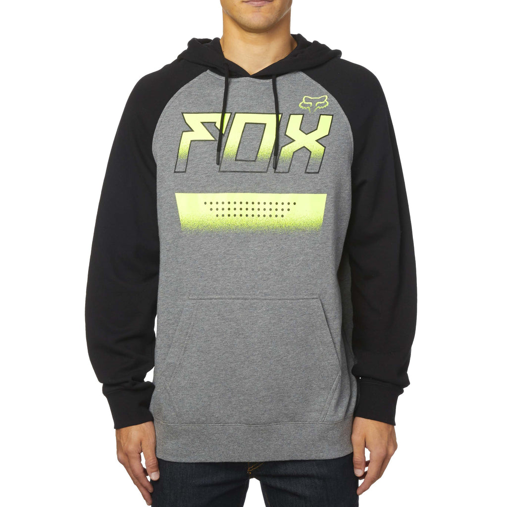 Fox Racing Men's Impressor Pullover Fleece Hoodie Heather Graphite