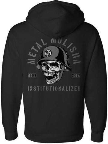 Metal Mulisha Men's Institutionalized Pullover Fleece Hoodie
