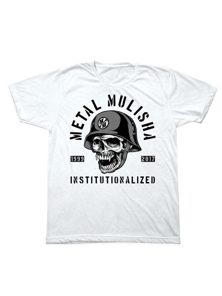 Metal Mulisha Men's Institutionalized Short Sleeve Tee