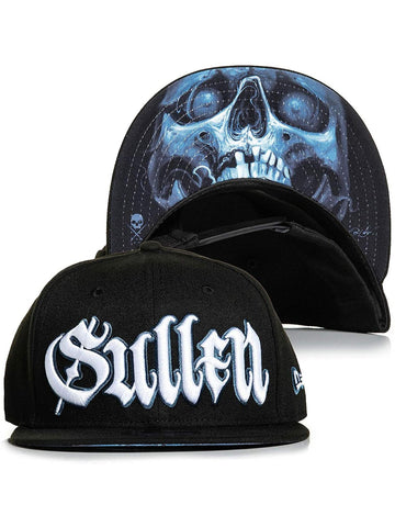 Sullen Men's Kobasic Skull Snapback Hat