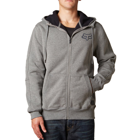 Fox Racing Men's Kounter Sherpa Zip Up Fleece Hoodie