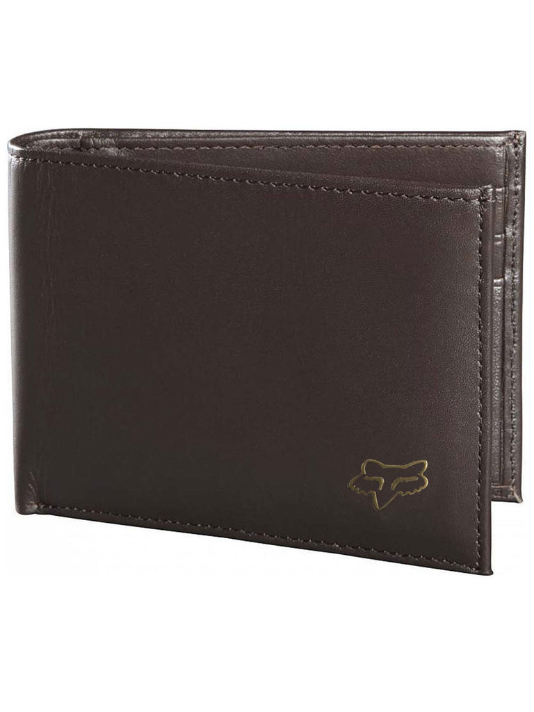 Fox Racing Men's Bifold Leather Wallet