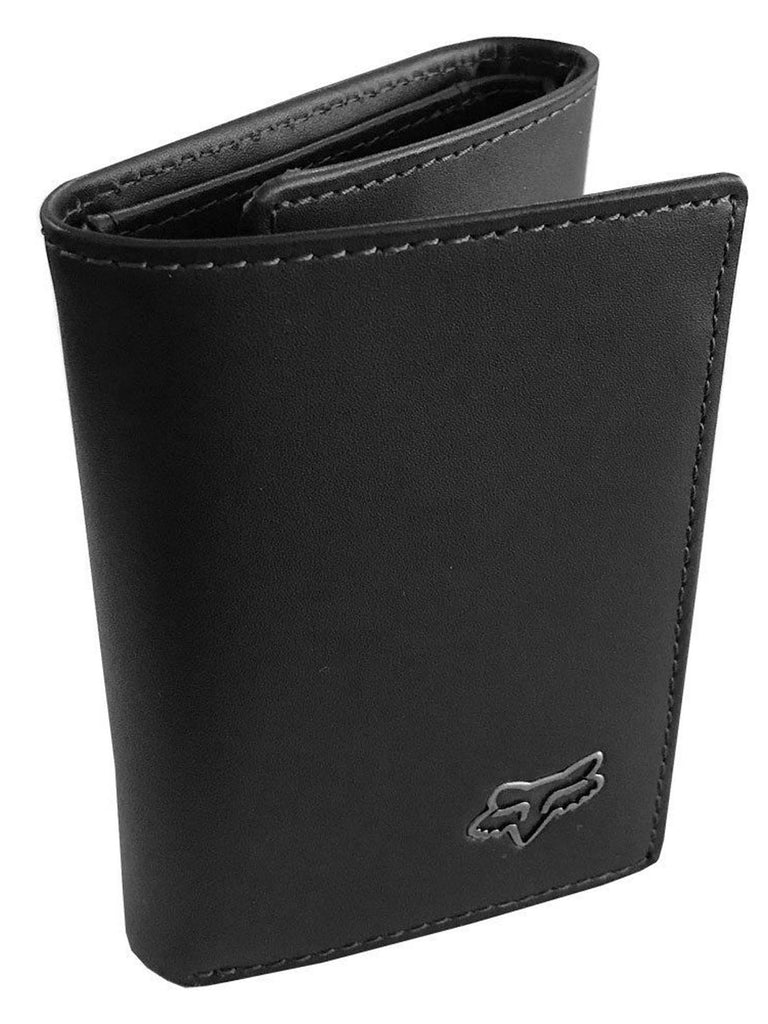 Fox Racing Men's Trifold Leather Wallet