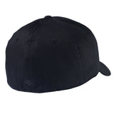 Fox Racing Legacy Hat Black on Black Back