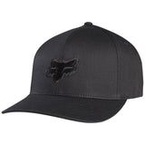 Fox Racing Legacy Hat Black on Black Front