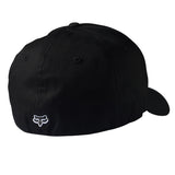 Fox Racing Legacy Hat White on Black Back