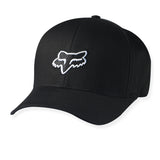 Fox Racing Legacy Hat White on Black Front