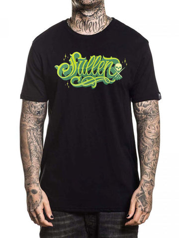 Sullen Men's Lime Script Short Sleeve T-shirt