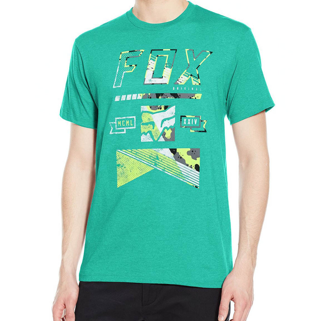 Fox Racing Men's Mapped Out Tee Green
