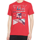 Fox Racing Men's Mapped Out Tee Red