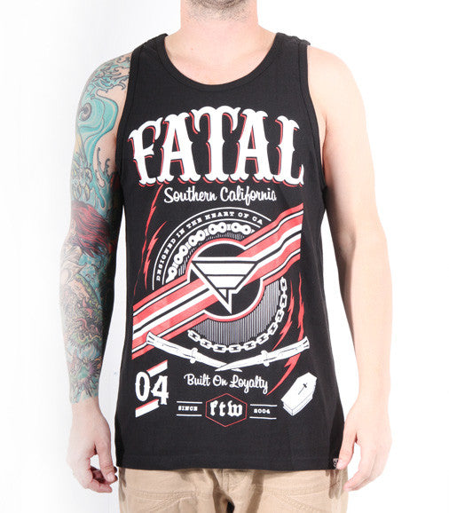 "Fatal Clothing Men's ""Stay True"" Southern California Loyalty Tank Top"