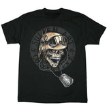 Sullen Mens Mess Hall Military Skull Tee