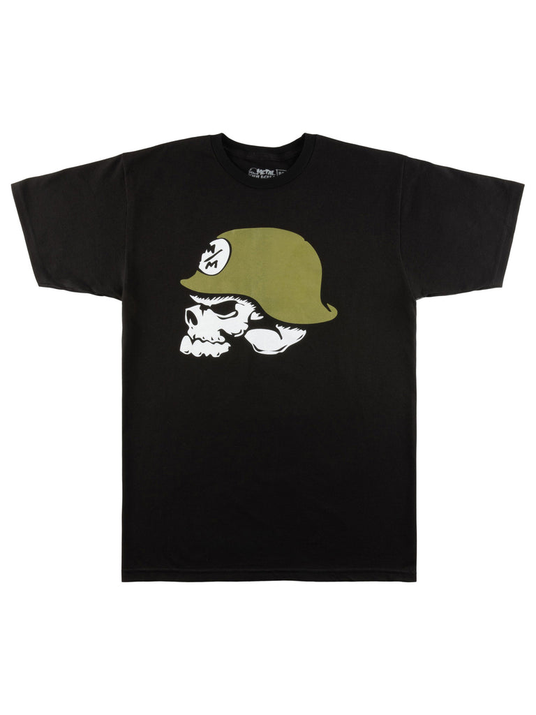 Metal Mulisha Men's OG Helmet Short Sleeve T-shirt