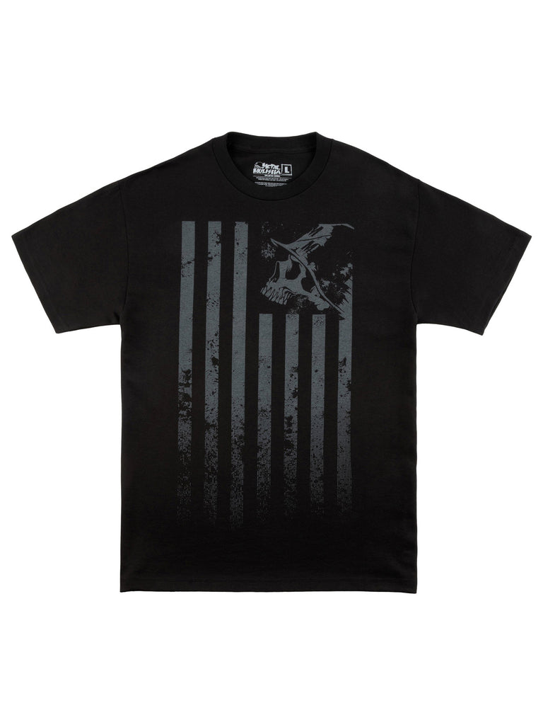 Metal Mulisha Men's Stripes Short Sleeve T-shirt