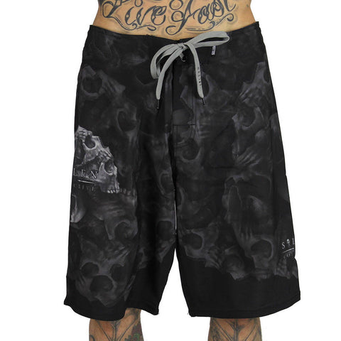 Sullen Men's Morph Skull Tattoo Boardshorts