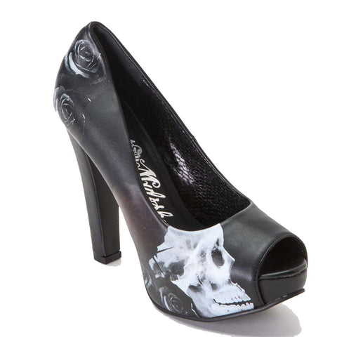 Metal Mulisha Women's Mysterious Pump High Heel Shoes