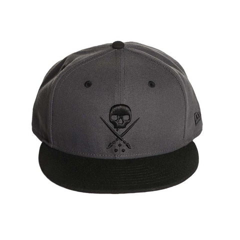 Sullen NE Men's Eternal Fitted Black and Grey Hat