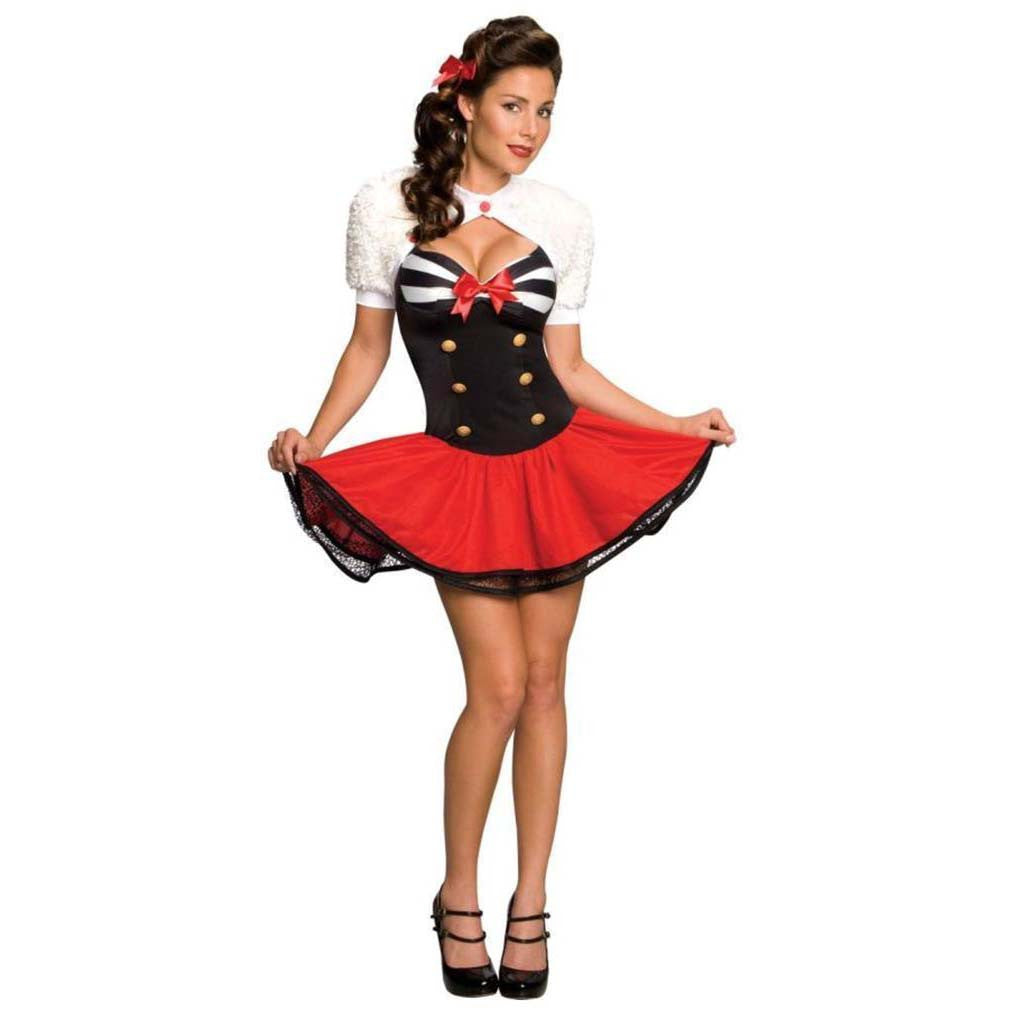 Rubies Women's Naval Pin Up Costume