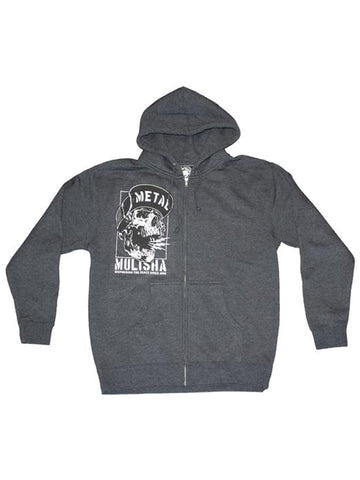 Metal Mulisha Men's No Peace Zip Up Hoodie