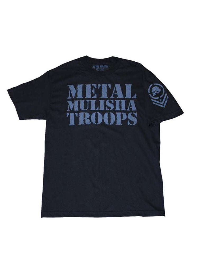 Metal Mulisha Men's OG Troops Short Sleeve Tee