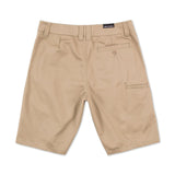 Metal Mulish Men's Ocotillo Walk Shorts Khaki Brown Back