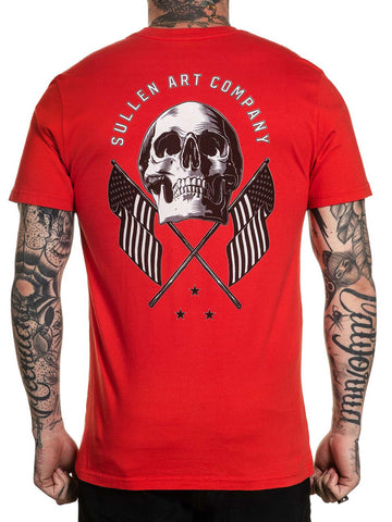 Sullen Men's Old Glory Short Sleeve Standard T-shirt